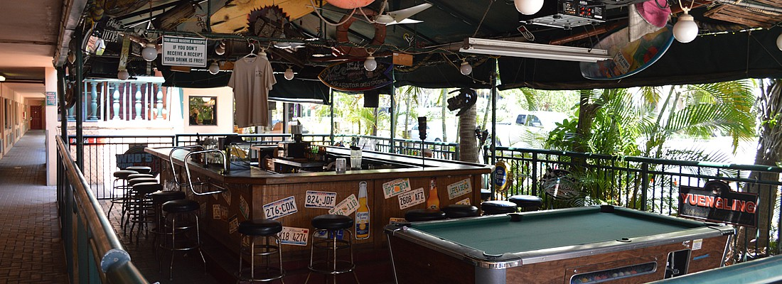 Friendly Poolside Bar with Pool Table